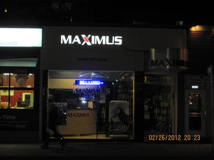 A Salon Vancouver Of Maximus Hair Salon Vancouver Bc Ourbis